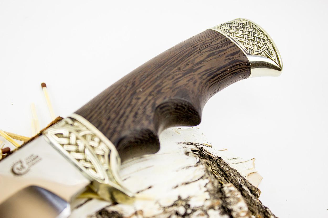 Фото 4 - Нож Цезарь, кованая сталь Х12МФ от Кузница Семина