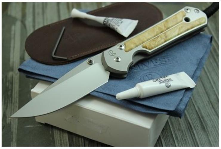 Складной нож Chris Reeve Large Sebenza ChR/LSALIE