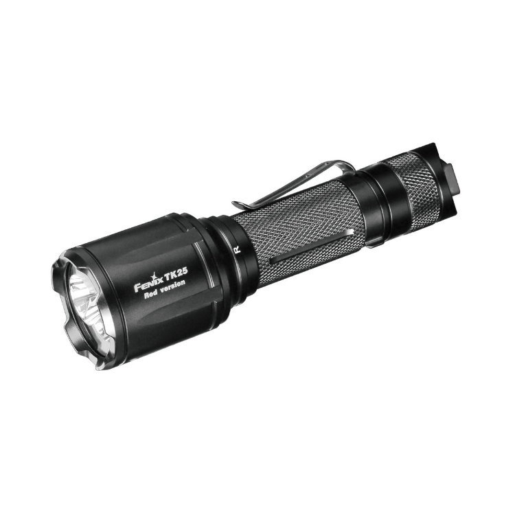 Фонарь Fenix TK25 Red XP-G2 nitecore cb6 cree xp g2 r5 white 440lm led flashlight powerful 3000mw blue light to identify the blood trail flashlight