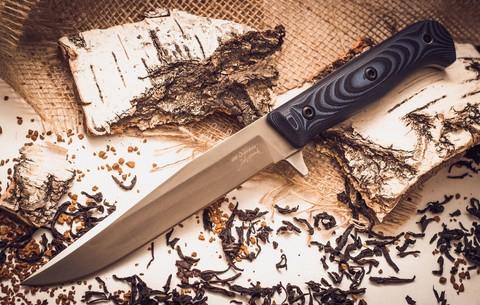 Тактический нож Intruder D2 Satin, Кизляр - Nozhikov.ru
