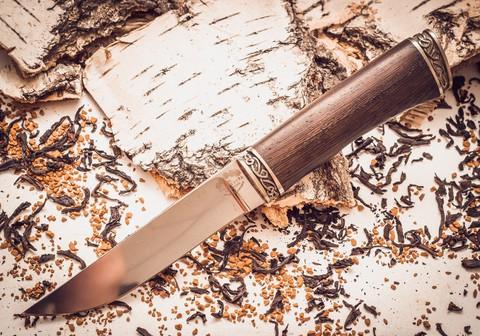 Нож Ладья-3, Х12МФ, рукоять венге - Nozhikov.ru