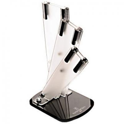 Подставка универсальная для 3-х ножей  (матовая)Tojiro<br>Подставка универсальная для 3-х ножей (матовая)<br>