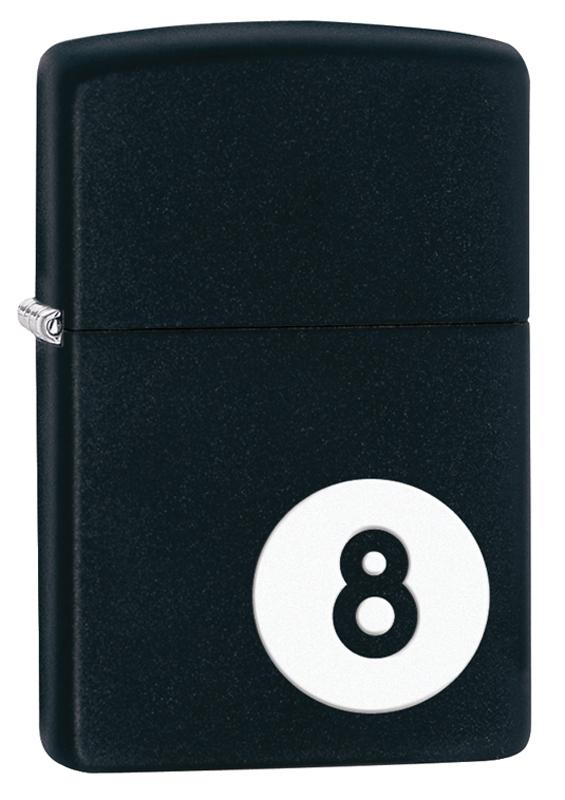 Зажигалка ZIPPO Classic Шар, покрытие Black Matte classic black