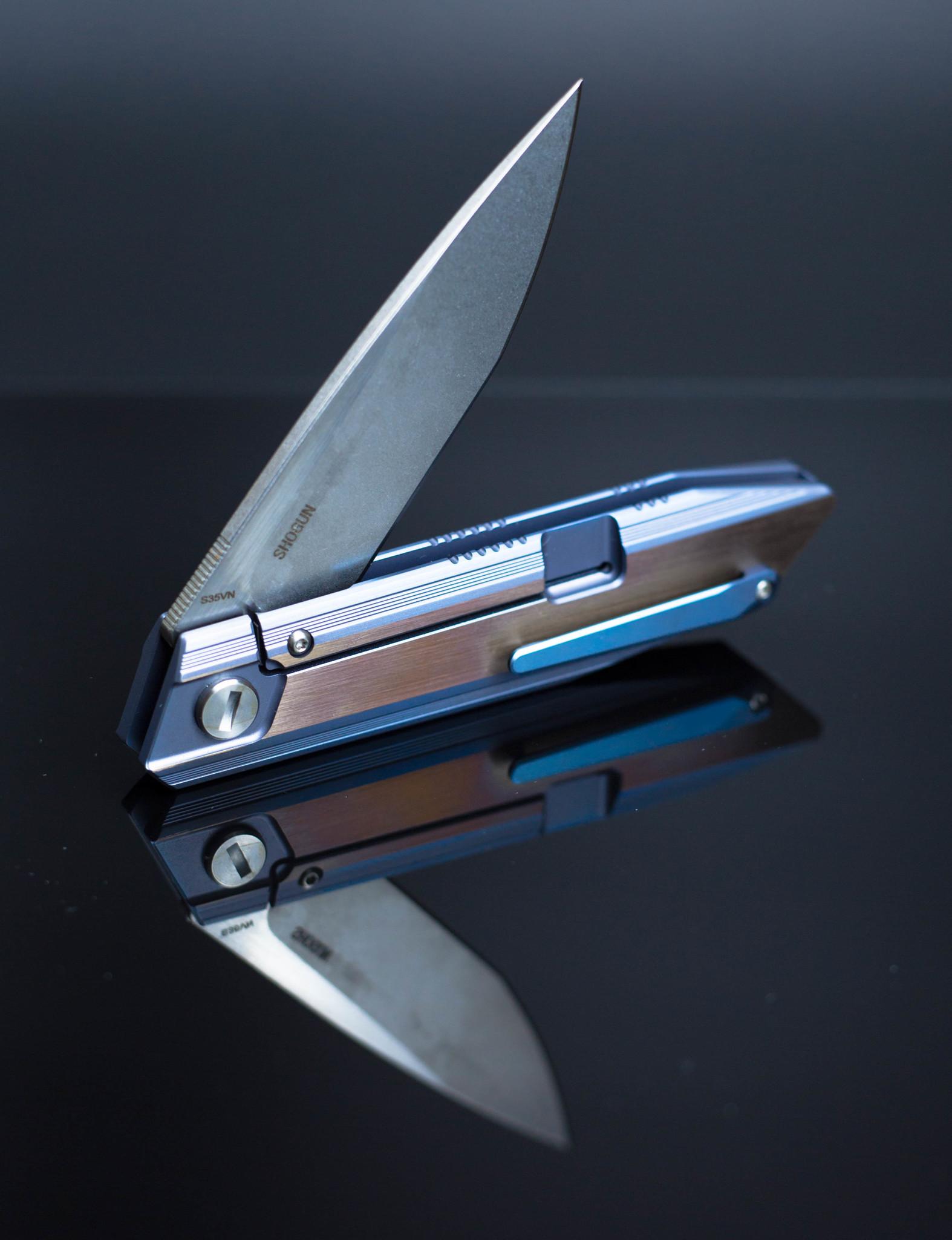 Фото 8 - Складной нож Bestech Knives Shogun BT1701D, сталь CPM-S35VN, рукоять титан