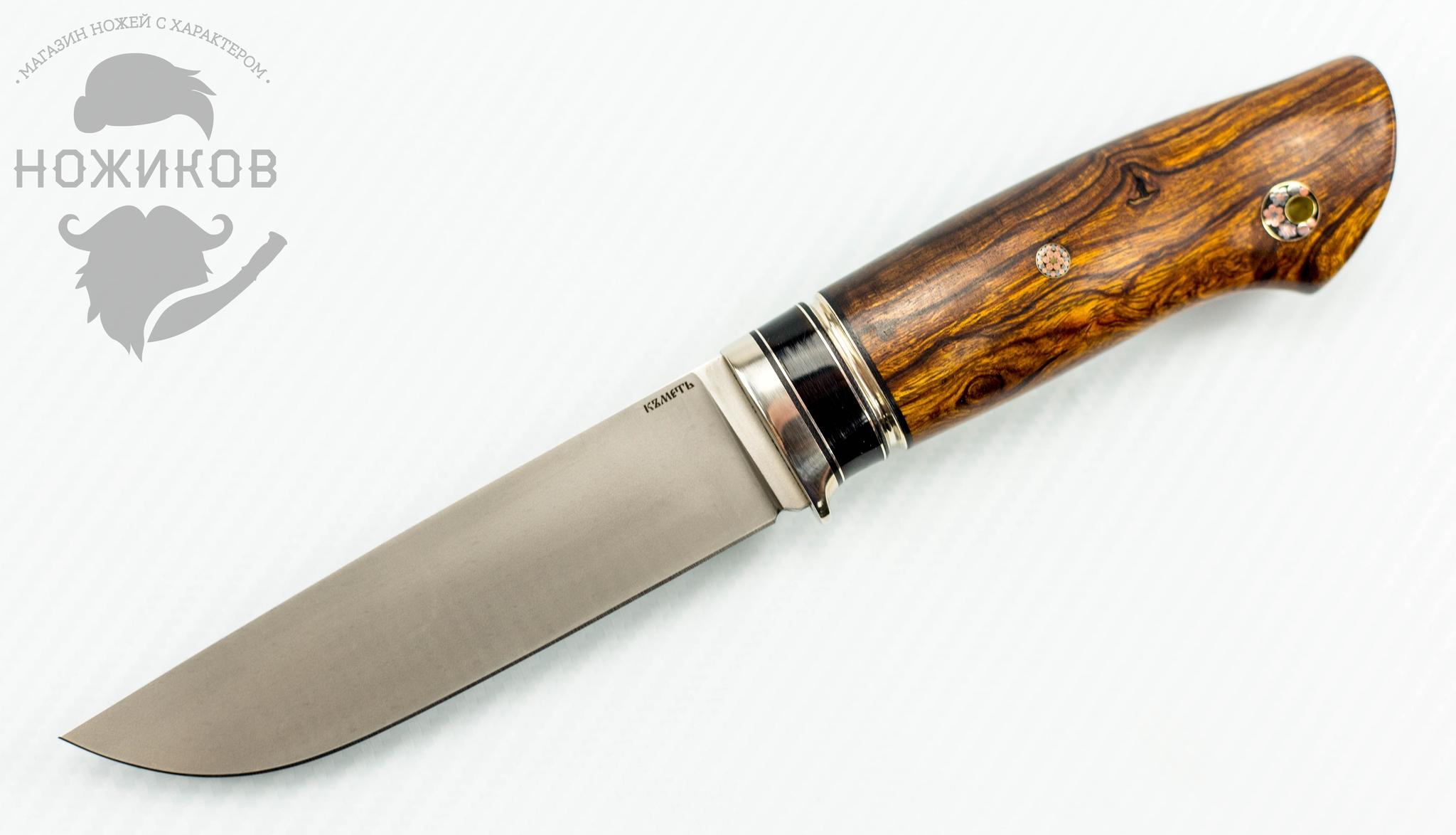 Нож Панцуй, CPM S125V, рукоять железное дерево, рог буйволаНожи Ворсма<br>Нож Панцуй, CPM S125V, рукоять железное дерево, рог буйвола<br>