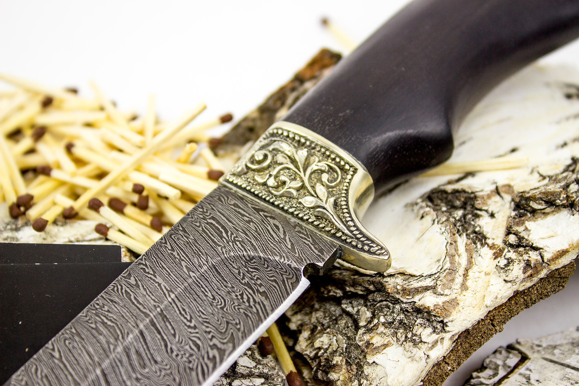 Фото 3 - Нож Варяг, дамасская сталь от Кузница Семина