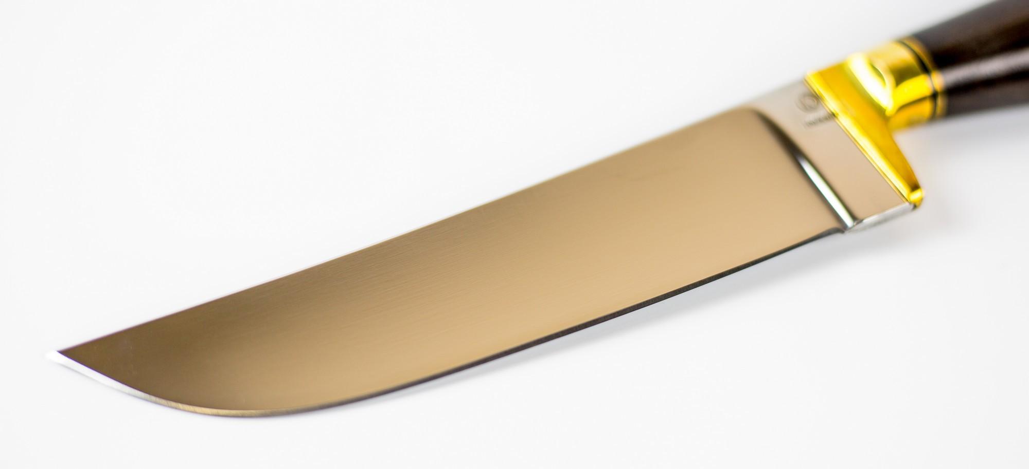 Фото 3 - Нож Узбек, сталь 110х18 от Ножи Крутова