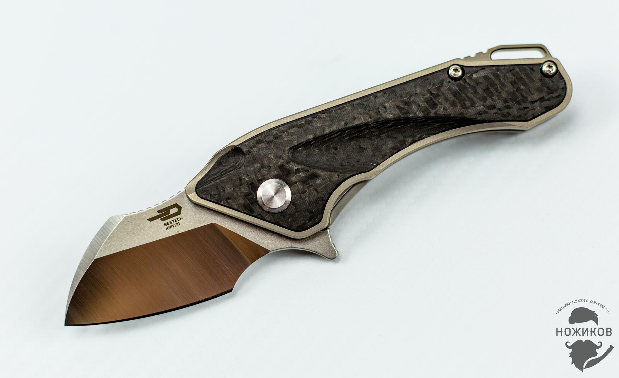 Фото 6 - Складной нож Bestech IMP BT1710A, сталь CPM-S35VN, рукоять титан от Bestech Knives