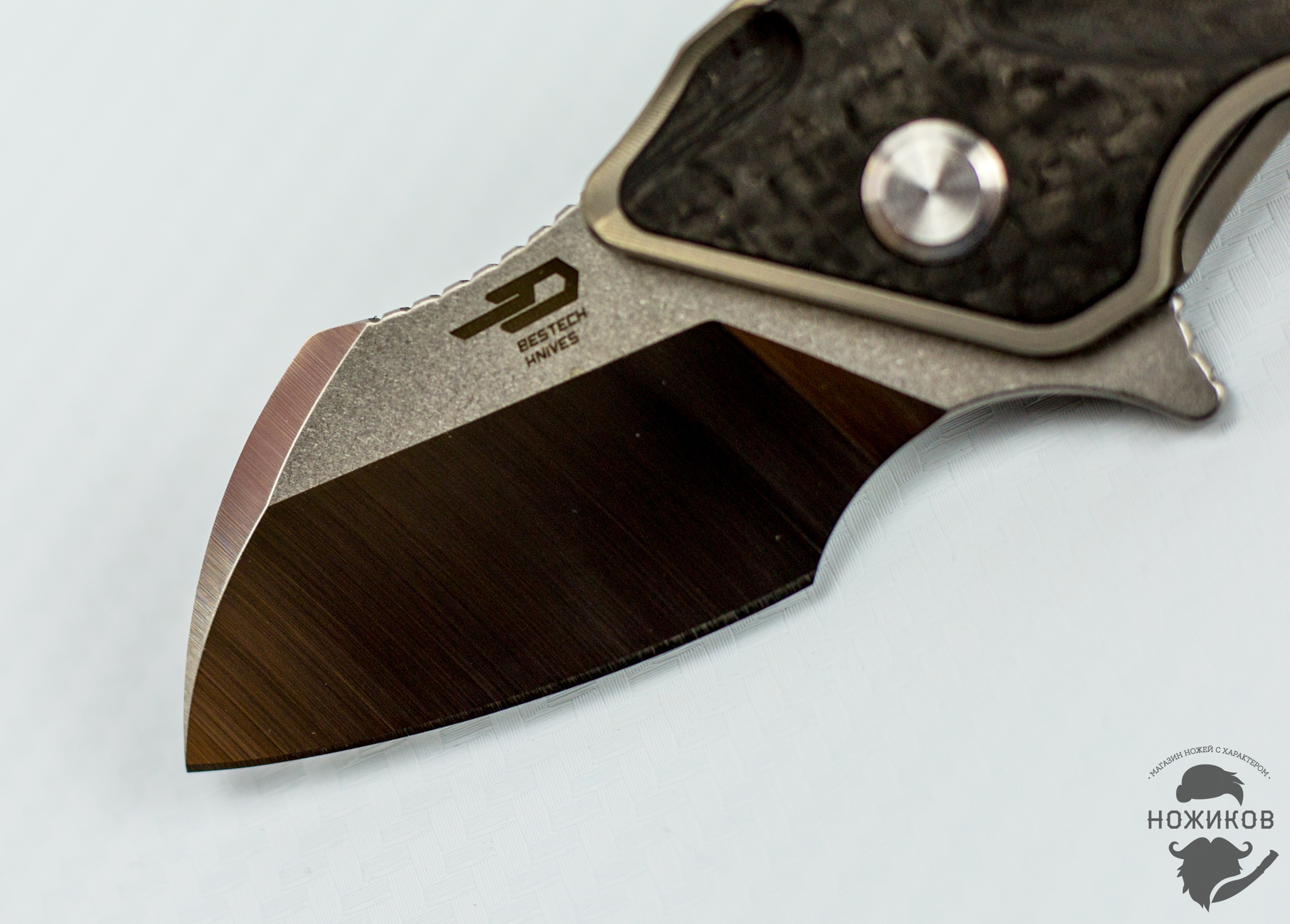 Фото 8 - Складной нож Bestech IMP BT1710A, сталь CPM-S35VN, рукоять титан от Bestech Knives