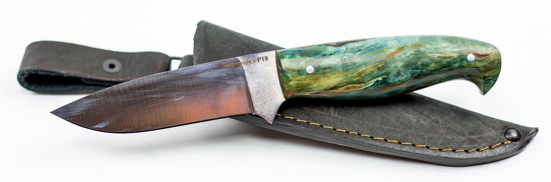 Нож туристический Морж, быстрорез, сталь Р18Ножи Ворсма<br>Нож туристический Морж, быстрорез, сталь Р18<br>
