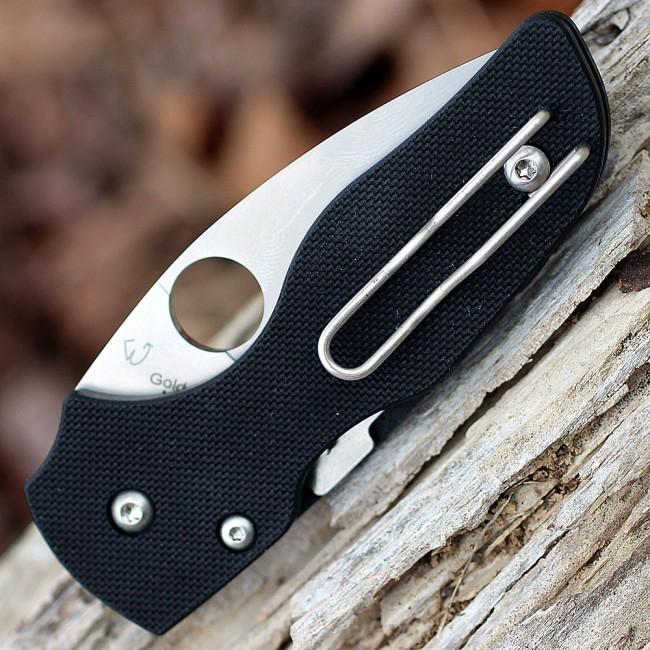 Фото 3 - Складной нож Spyderco Lil' Native, CPM S30V, G10, Serrated Blade