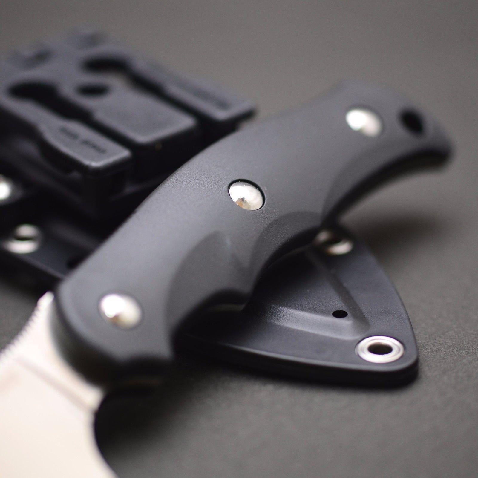 Фото 2 - Туристический нож G.Sakai, Camper En Fixed, ZDP-189, Black FRN