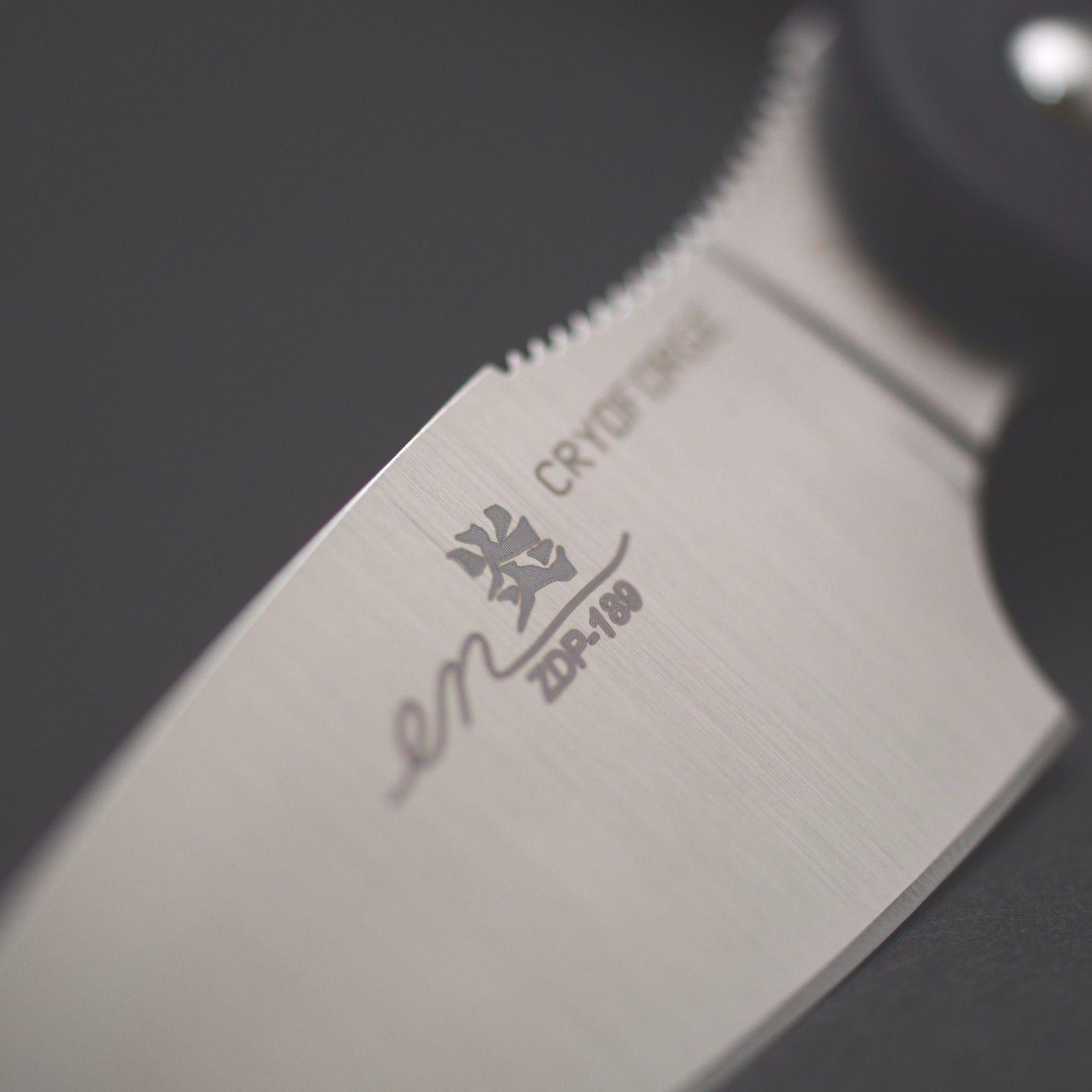 Фото 3 - Туристический нож G.Sakai, Camper En Fixed, ZDP-189, Black FRN