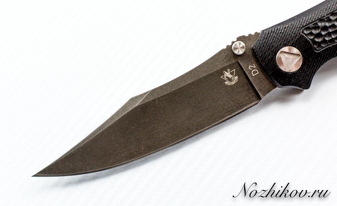 Фото 5 - Складной нож Брат 4, D2 от Steelclaw