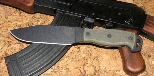 Нож с фиксированным клинком Ontario RD6 Black Micarta мачете ontario sp8