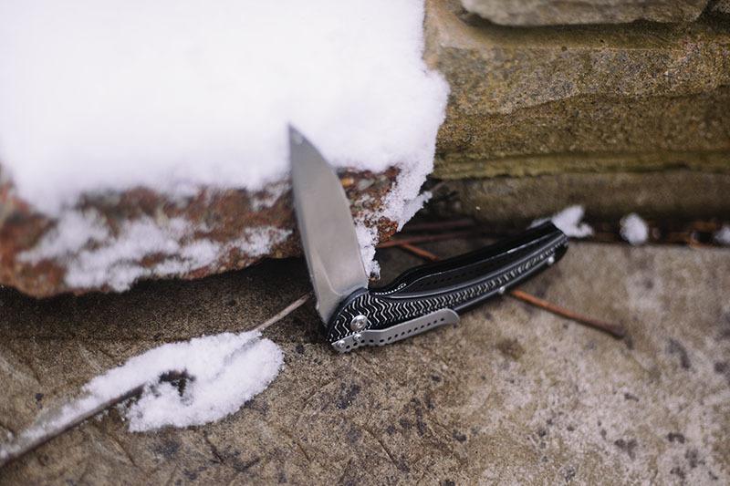 Фото 3 - Складной нож CRKT Ripple™ 2 Aluminum, сталь 8Cr14MoV, рукоять алюминий