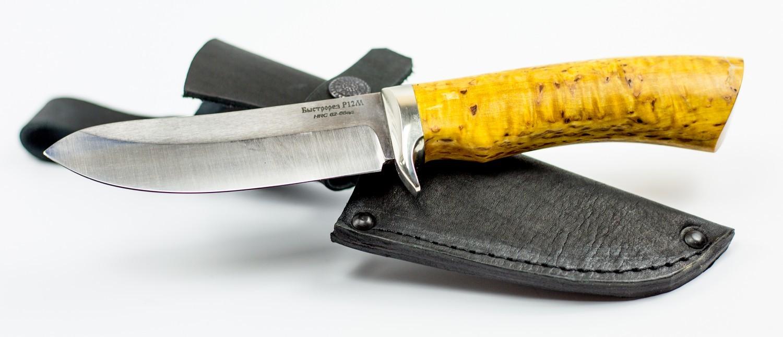 Нож туристический Скинер, быстрорез, сталь Р12Ножи Ворсма<br>Нож туристический Скинер, быстрорез, сталь Р12<br>