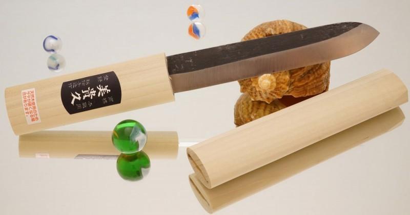 Купить Нож Makiri 150 mm, черный в России