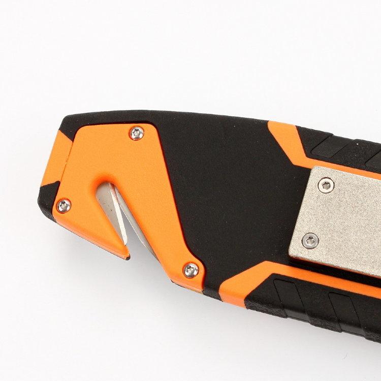 Фото 14 - Нож для выживания с огнивом и точилкой Firebird (by Ganzo) G803-OR