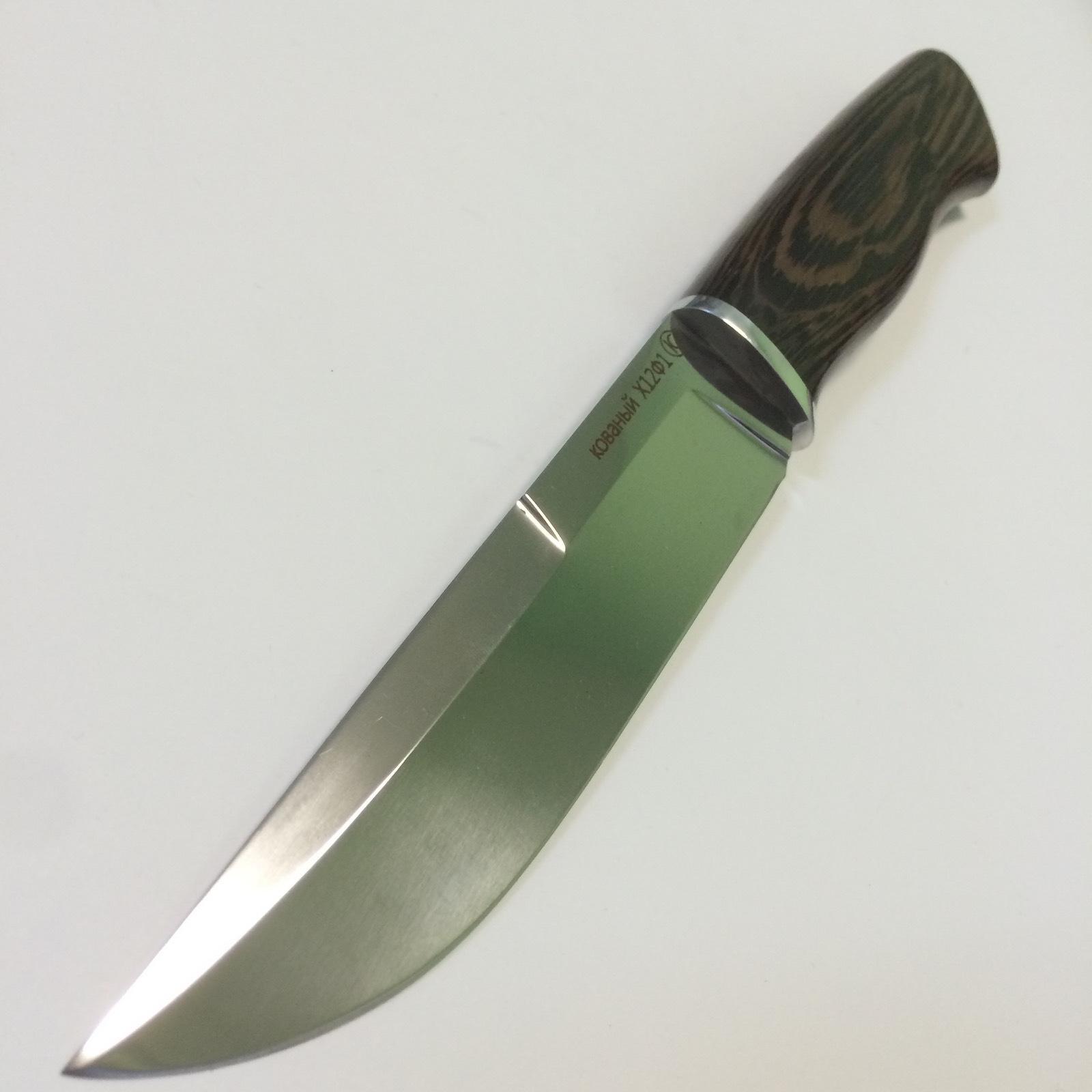Туристический нож RN-4, сталь X12МФ