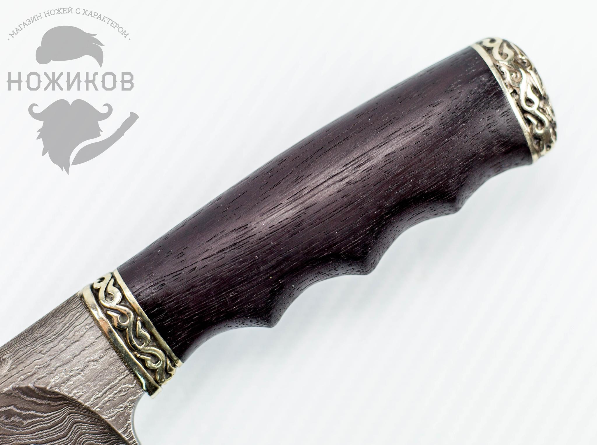Фото 3 - Авторский Нож из Дамаска №74, Кизляр