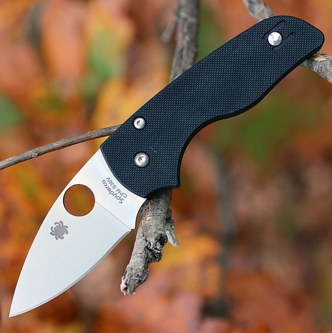 Складной нож Spyderco Lil' Native, CPM S30V, G10