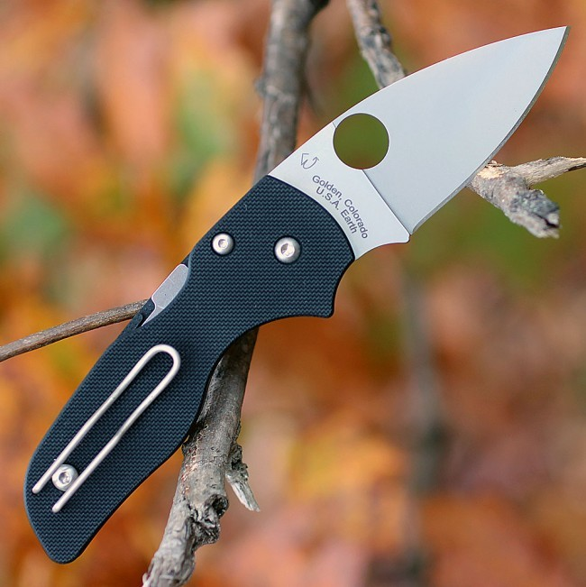 Фото 3 - Складной нож Spyderco Lil' Native, CPM S30V, G10