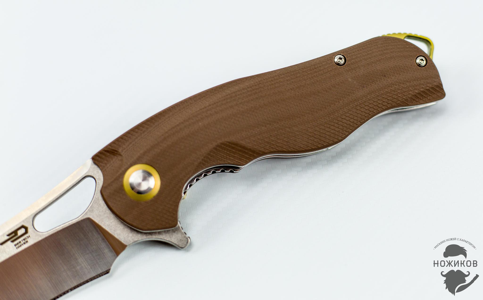 Фото 6 - Складной нож Bestech Rhino BG08B, сталь 154CM от Bestech Knives