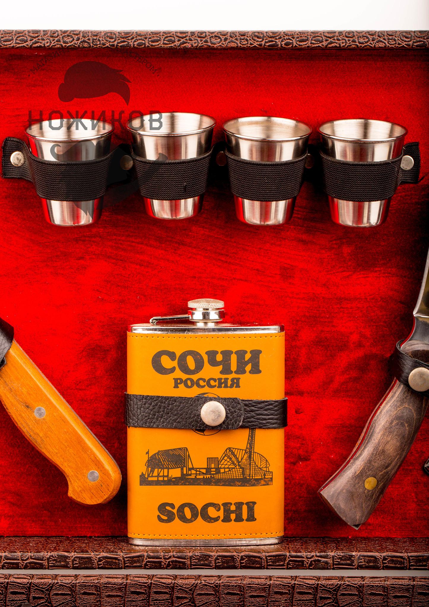 Фото 5 - Подарочный шашлычный набор