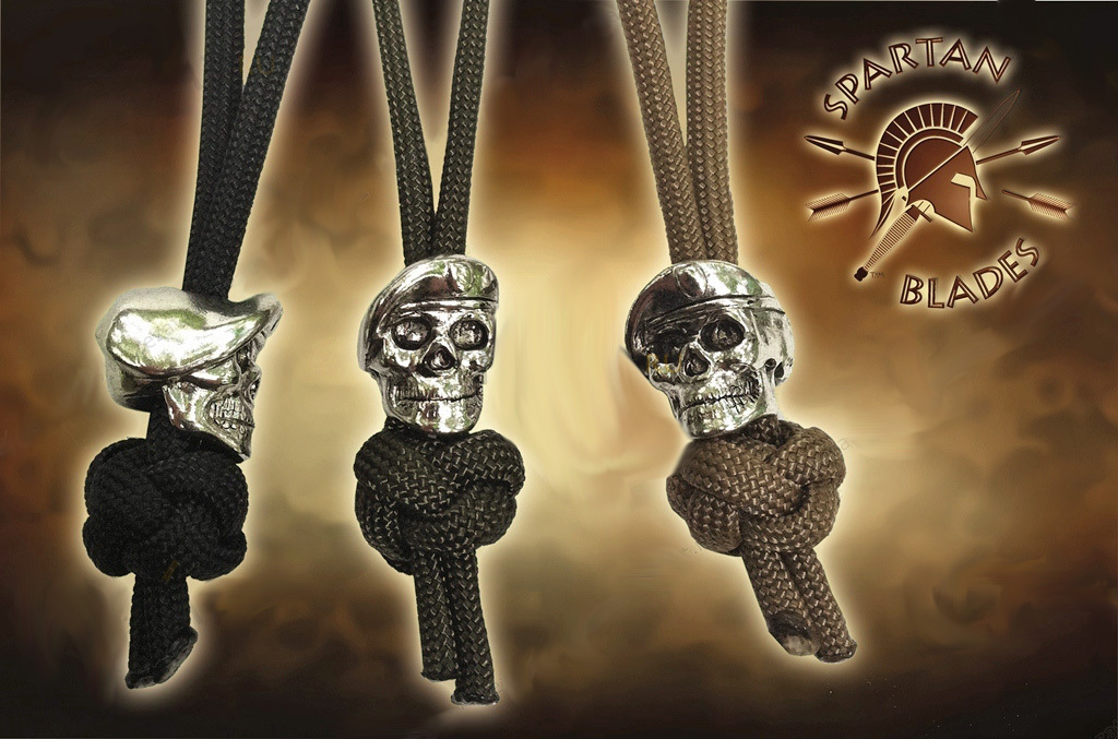 Темляк с бусиной OD Green Black Para-Cord Lanyard with Beret Skull Bead cool stylish skull mask golden black