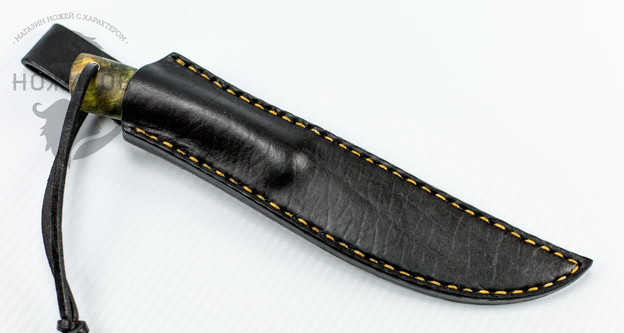 """Нож Лиман, сталь D2, корень тополя-2 от Магазин ножей """"Ножиков"""""""
