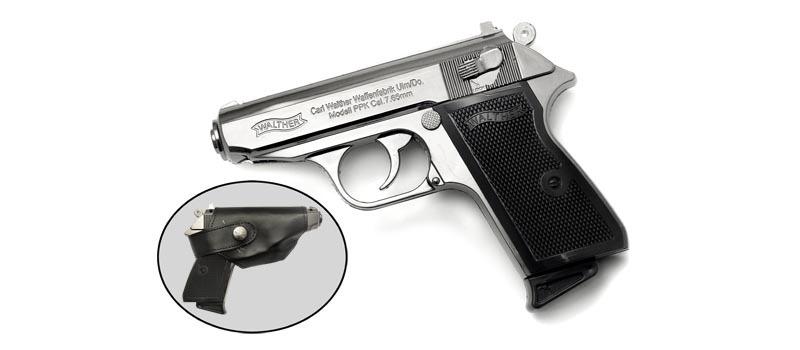 Зажигалка ПистолетЗажигалки<br>Зажигалка газовая турбо Пистолет Длина: 160 ммШирина: 120 ммМатериал: металл, пластик<br>Зажигалка продается без газа.<br>