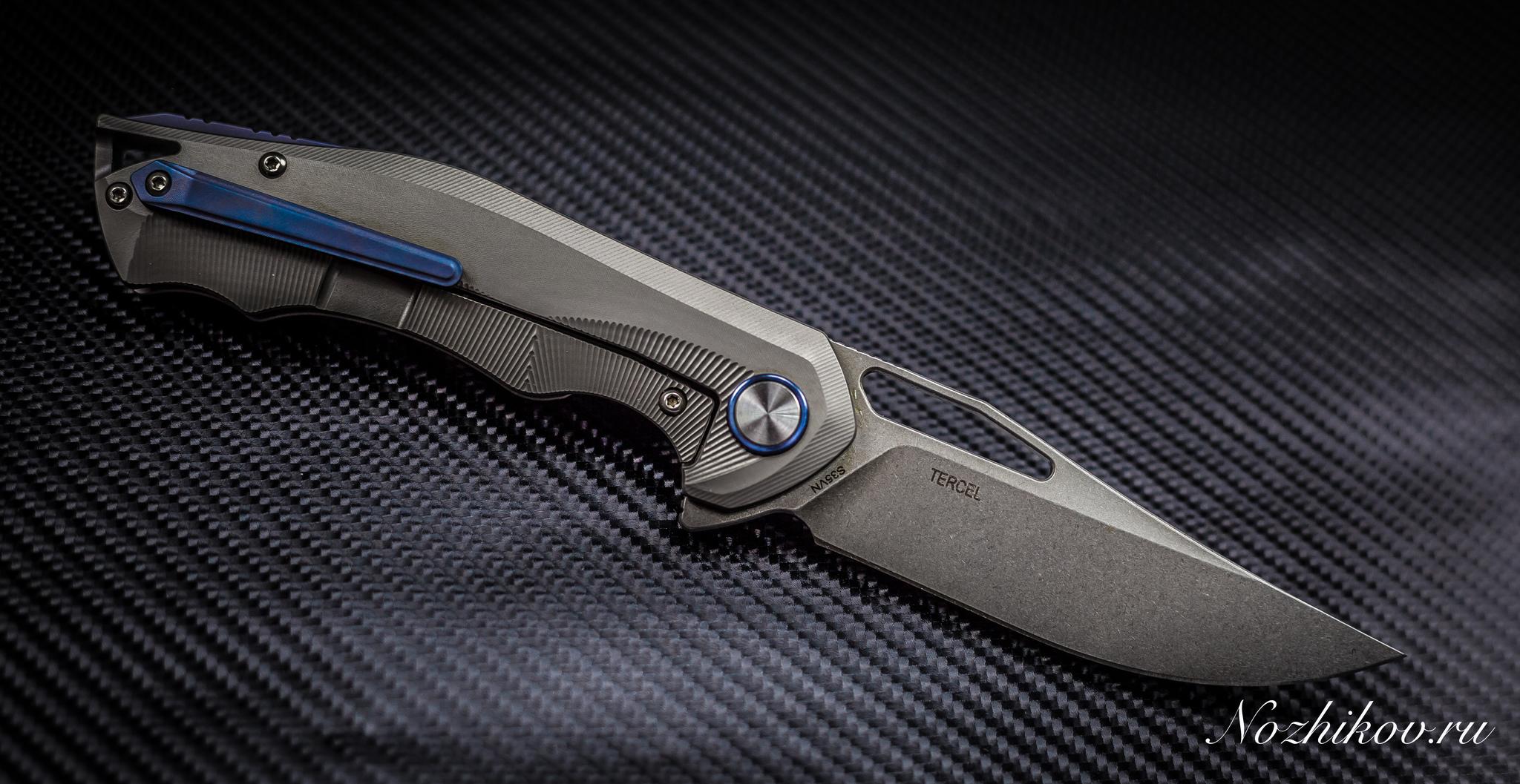 Фото 4 - Складной нож Bestech Tercel BT1708B, сталь CPM-S35VN, рукоять титан от Bestech Knives