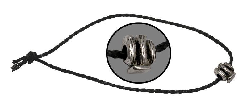 Темляк Кактус, плетёныйViking Nordway<br>Длина: 500 мм Диаметр: 3 мм Материал: кожа/металл<br>