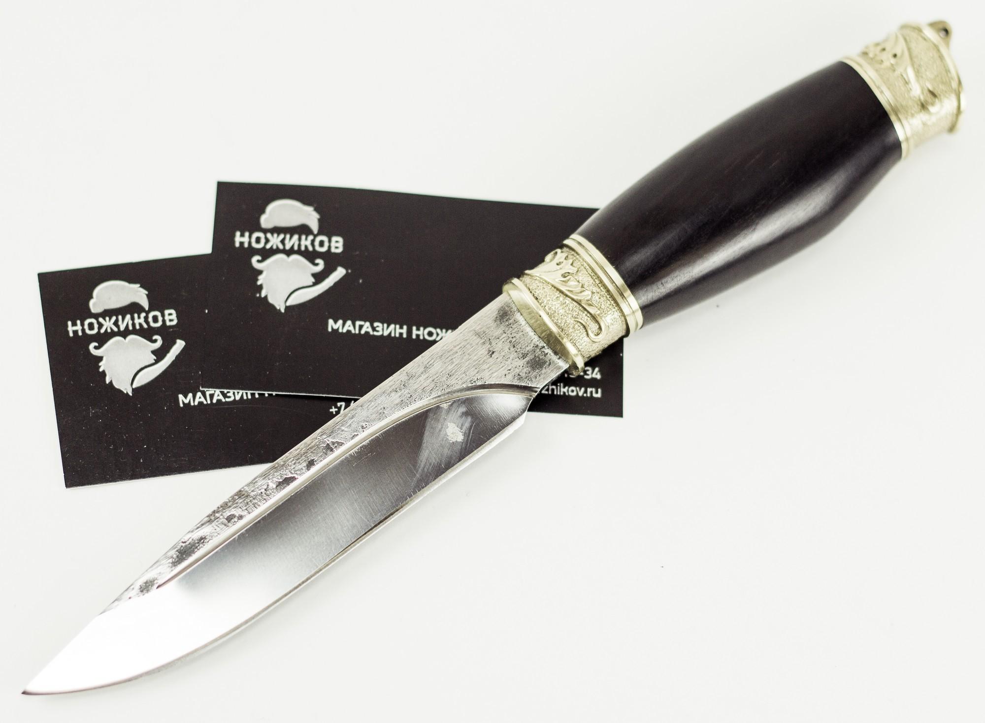 Нож Р-1 из кованой стали х12мф, Кизляр нож тур кизляр х12мф с головой волка
