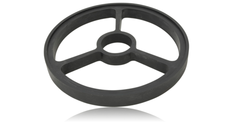 Подставка для камней (QA-0060, QA-0061, QA-0062) 220*23мм плоский круг - Nozhikov.ru