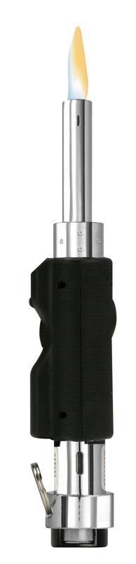 Зажигалка газовая ZIPPO OUL®, сталь, серебристая, 38x19x195 ммЗажигалки Zippo<br>Зажигалка газовая ZIPPO OUL®, сталь, серебристая с чёрной резиновой рукоятью, 38x19x195 мм<br>