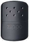 Каталитическая грелка ZIPPO, латунь с покрытием Black Matte, черный, матовая, 60х12х85 мм