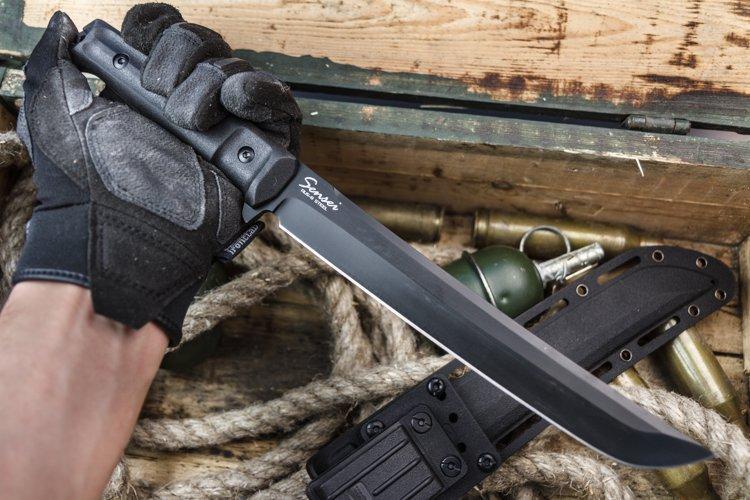 Нож Sensei AUS-8 Black TitaniumНожи Кизляр<br><br>
