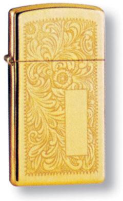 Зажигалка ZIPPO High Polish Brass, латунь, золотистый, глянцевая, 30х55х10 ммЗажигалки Zippo<br>Зажигалка ZIPPO High Polish Brass, латунь, золотой, глянцевая, 30х55х10 мм<br>