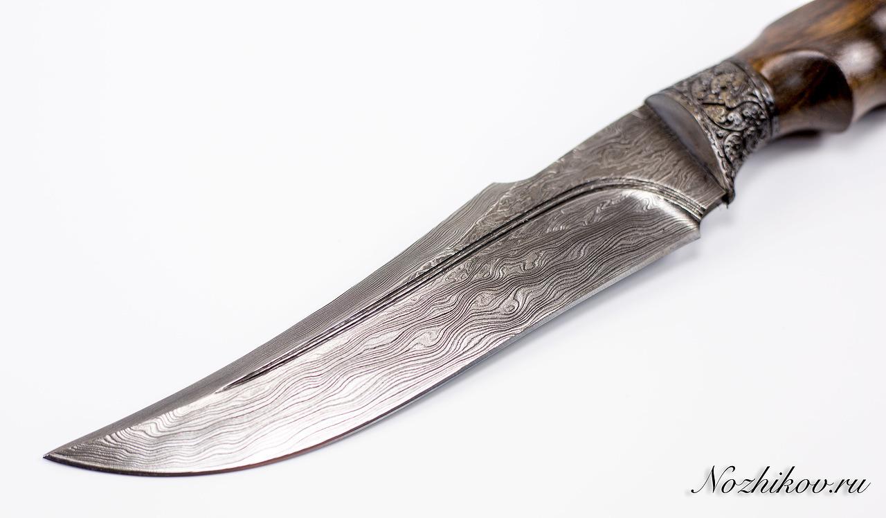 Фото 8 - Авторский Нож из Дамаска №24, Кизляр от Noname