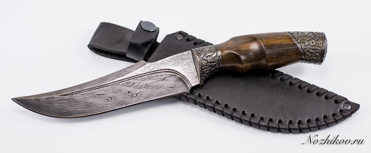 Фото 10 - Авторский Нож из Дамаска №24, Кизляр от Noname