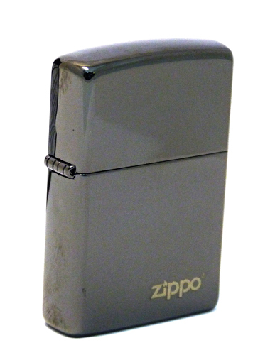 Зажигалка ZIPPO ZL Ebony, латунь с никеле-хромовым покрытием, черный, глянцевая, 36х56х12 ммЗажигалки Zippo<br>Зажигалка ZIPPO ZL Ebony, латунь с никеле-хромовым покрытием, черный, глянцевая, 36х56х12 мм<br>