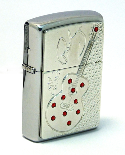 *Elvis Guitar Bling ЗажигалкаЗажигалки Zippo<br>Зажигалка Elvis Guitar Bling<br>