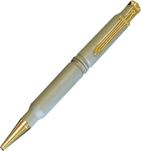 Тактическая ручка Spartan Blades SB/PENТактические ручки<br>Тактическая ручка Spartan Blades SB/PEN является не только незаменимой письменной принадлежностью, но и орудием самообороны для ежедневного ношения с собой. Металлический корпус отличается высочайшей прочностью и противоударными свойствами. Ручка выполнена в серо-зеленом цвете. Корпус имеет циллиндрическую форму и дополнен золотистой клипсой - благодаря ей вы сможете зафиксировать ручку на тетради, сумке или кармане. Малый вес делает ручку практически невесомой и не перегружает запястье. Дизайн модели разработан американским дизайнером Крисом Фалкелом.<br>