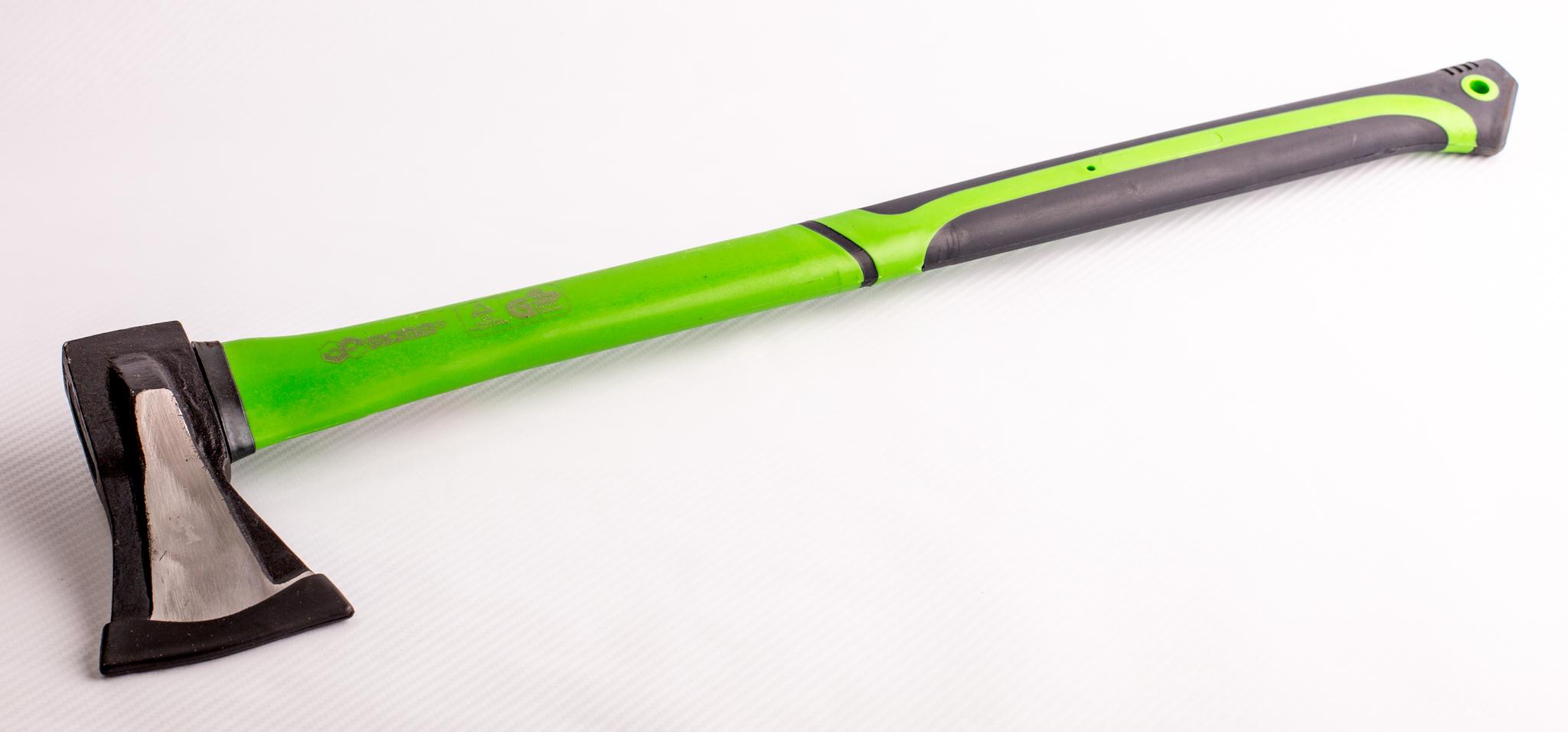 Фото 6 - Топор-колун с удлиненной фиберглассовой ручкой, 1000гр. от Noname