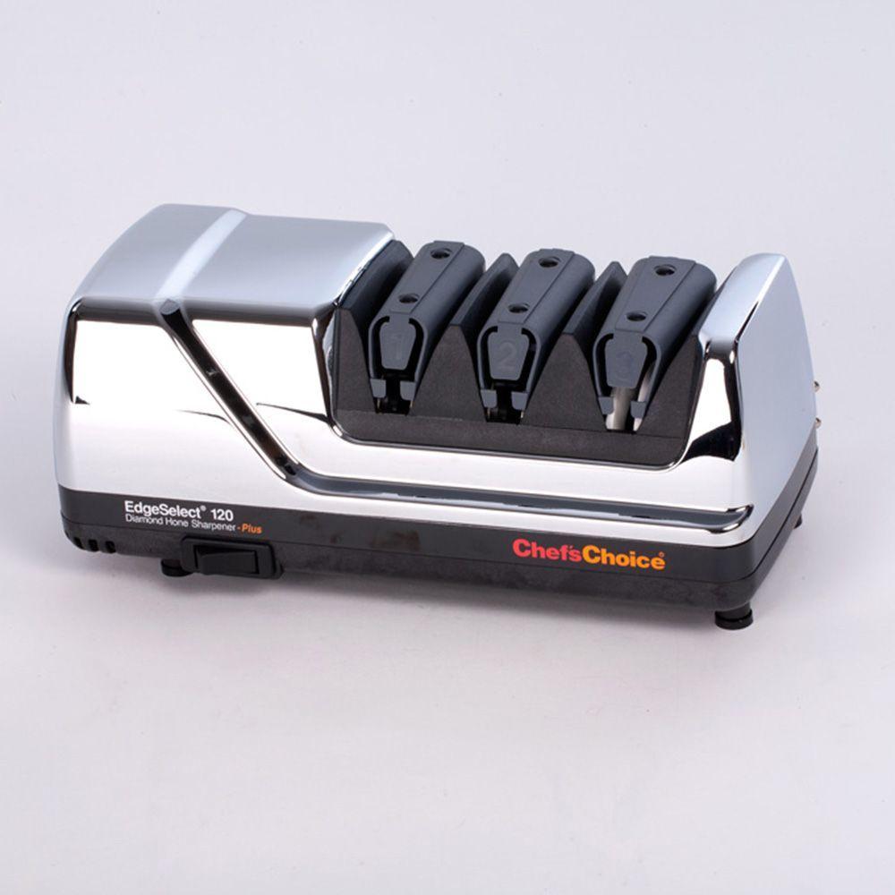 Электрический станок для заточки ножей Chef'sChoice CC120HR электрический 3 х уровневый станок для заточки ножей cc2100