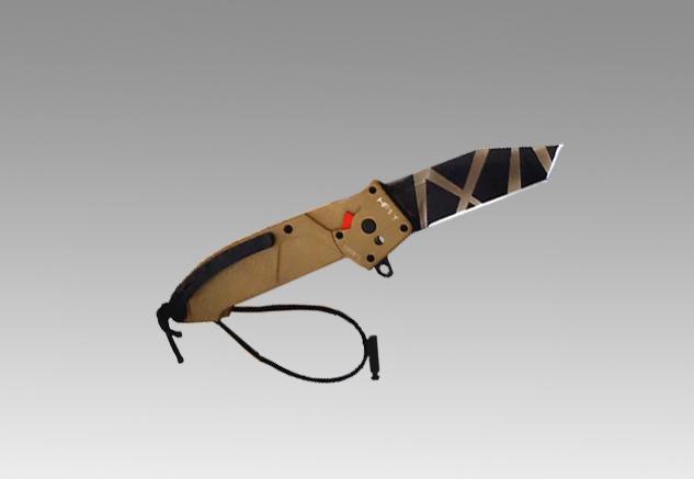Фото 2 - Складной нож Extrema Ratio HF1 T DESERT WARFARE, сталь Bohler N-690, рукоять алюминий