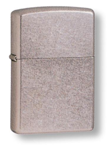 Зажигалка ZIPPO Classic с покрытием Street Chrome™, латунь/сталь, серебристая, матовая, 36x12x56 мм зажигалка zippo охотник с покрытием brushed chrome латунь сталь серебристая матовая 36x12x56 мм