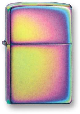Зажигалка ZIPPO Spectrum, латунь с никеле-хромовым покрытием, разноцветная, глянцевая, 36х56х12 ммЗажигалки Zippo<br>Зажигалка ZIPPO Spectrum, латунь с никеле-хромовым покрытием, разноцветная, глянцевая, 36х56х12 мм<br>